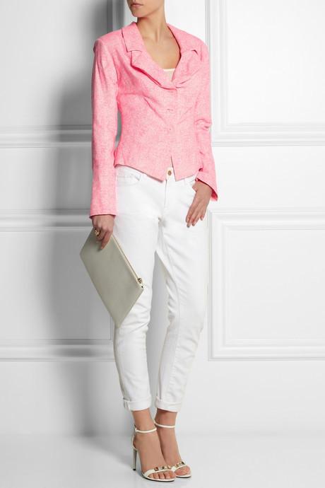 Vivienne Westwood Anglomania Rosha printed silk jacket