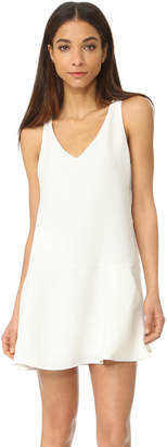 BB Dakota Jarvis V Neck Waffle Dress $90 thestylecure.com