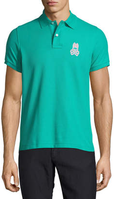 Psycho Bunny Alto Embroidered Logo Polo Shirt