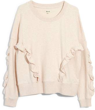 Madewell Ruffle Sweatshirt