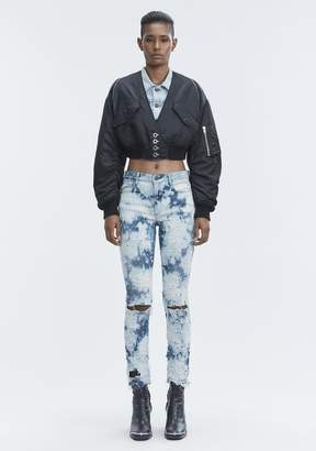 Alexander Wang WHIPLASH DESTROYED JEANS DENIM