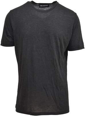 Neil Barrett Grey Viscose T-shirt