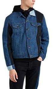 Gosha Rubchinskiy Men's Patchwork Levi's® Jacket - Blue