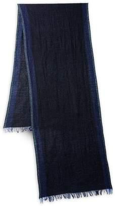 John Varvatos Men's Fringe Wool Scarf