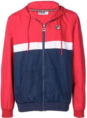Fila striped hooded jacket