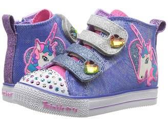 Skechers Twinkle Toes - Shuffle Lite 10995N Lights (Toddler/Little Kid)