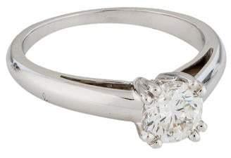 Mauboussin 18K Diamond Solitaire Engagement Ring