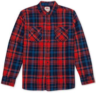 Levi's Men Turin Plaid Shirt