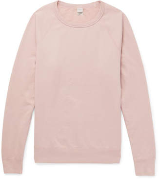 SAVE KHAKI UNITED Fleece-Back Supima Cotton-Jersey Sweatshirt