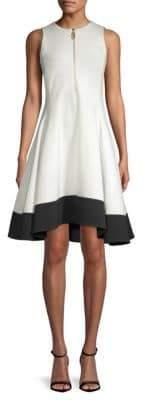 Donna Karan Fit-&-Flare Dress