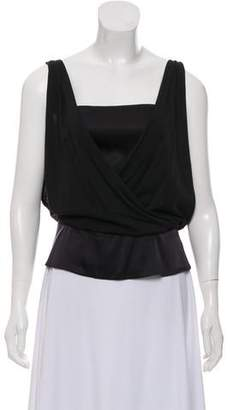 Diane von Furstenberg Sleeveless Silk Top