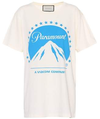 Gucci (グッチ) - Gucci Paramount cotton T-shirt