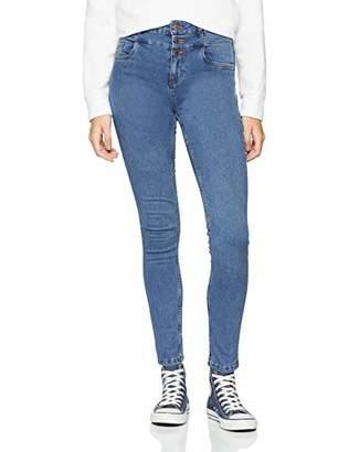 New Look Women's 5795607 Skinny Jeans, (Mid Blue), 34W/32L