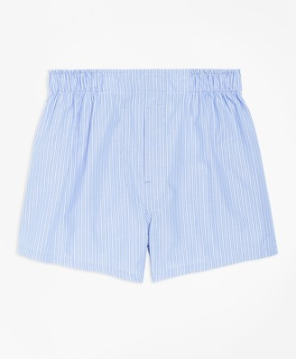 Brooks Brothers Pencil Stripe Boxers