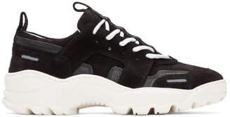 Ami Alexandre Mattiussi Black Runner Sneakers