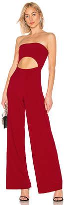 Norma Kamali x REVOLVE Strapless Cut Out Jumpsuit