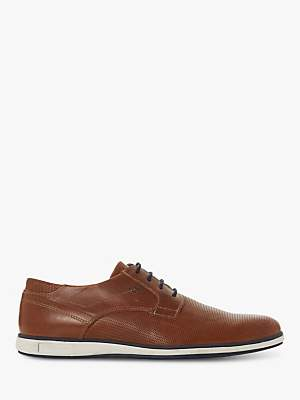 Dune Bamfield Leather Derby Shoes, Tan