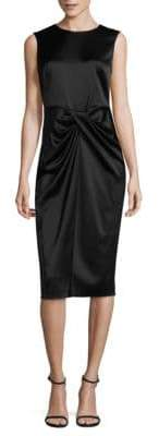 Donna Karan Sleeveless Sheath Dress