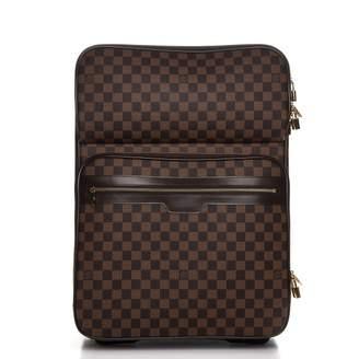 Louis Vuitton Suitcase Pegase Business Damier Ebene 55 Brown