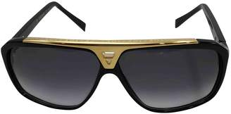 Louis Vuitton Black Plastic Sunglasses