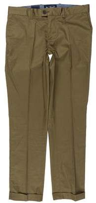 Original Penguin Cuffed Flat Front Pants