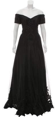 Jovani Sequin Embellished Evening Gown