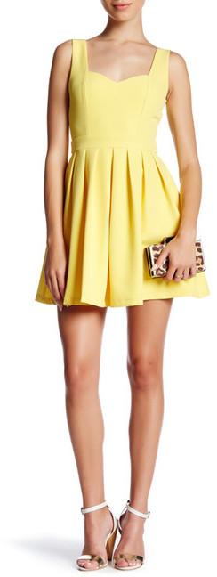 Tea & Cup Classic Mini Heart Cutout Dress