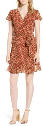 Rebecca Minkoff Ana Floral Wrap Dress