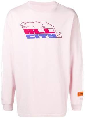 Heron Preston slogan sweatshirt
