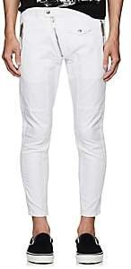 DSQUARED2 Men's Moto Skinny Jeans - White Size 48 Eu