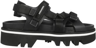 DSQUARED2 Strappy Flat Sandals