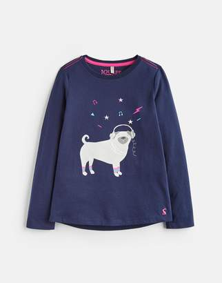 Joules Clothing Older bessie Long Sleeve Graphic Tee