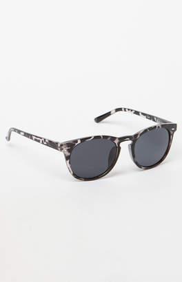 PacSun Classic Round Tortoise Black Sunglasses