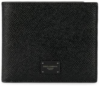 Dolce & Gabbana logo patch wallet