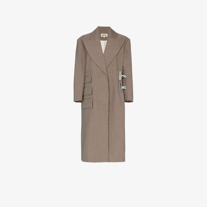 Shushu/Tong clip long sleeve coat