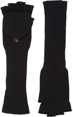 Barneys New York Women's Fingerless Convertible Mittens