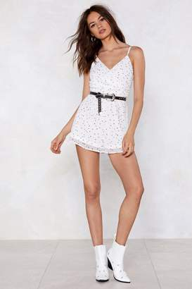 Nasty Gal Star Power Cami Romper