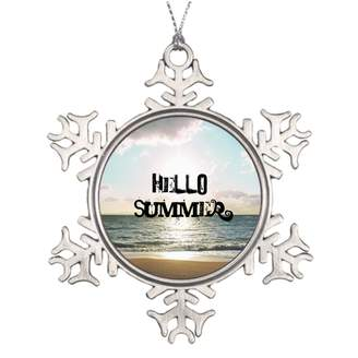 Waterford Silently Girly Large Christmas Tree Snowflake Ornaments Hipster Xmas Ornament