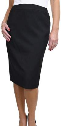 Ice 2547-1) Smart Pencil Skirt Office Day Fully Lined Washable