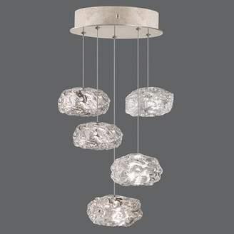 Fine Art Lamps Natural Inspirations 5-Light Cluster Pendant Fine Art Lamps