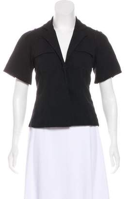 Diane von Furstenberg Short Sleeve Oahu Top