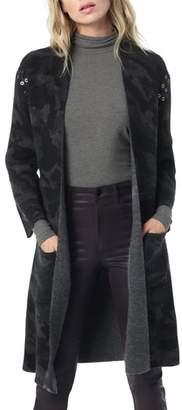 Joe's Jeans Kiera Camo Long Cardigan
