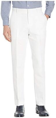Perry Ellis Portfolio Modern Fit Linen Dress Pants