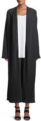 Eileen Fisher Morse Code Long Kimono Jacket, Petite