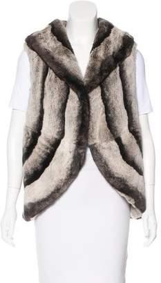 Anya Hindmarch Shawl Collar Fur Vest