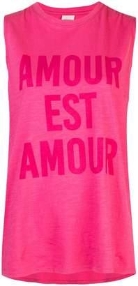 Cinq à Sept Love is Love sleeveless T-shirt