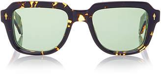 Taos Jacques Marie Mage Square-Frame Tortoiseshell Acetate Sunglasses
