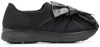 Prada bow tie sneakers