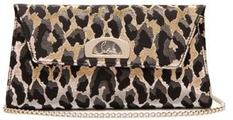 Christian Louboutin Vero Dodat Leopard Jacquard Clutch - Womens - Leopard