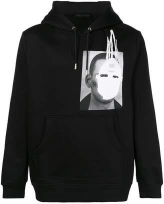 Diesel Black Gold SNEILBOOD-FACE hoodie